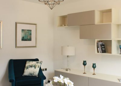 Bright room in Howth designed by Interior design expert Pollard design